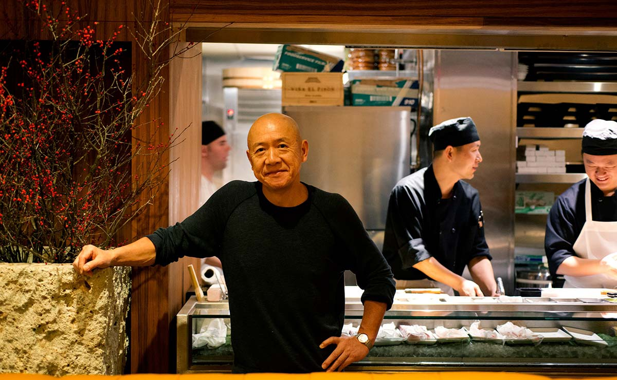 Chef Masayoshi Takayama: From dishwasher to sushi master‬‬‬‬